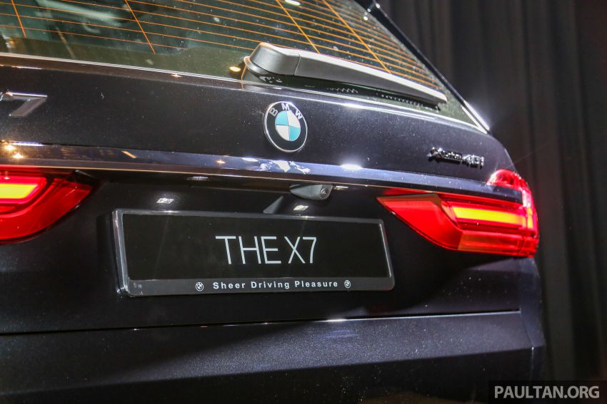 New BMW X7 launched in Malaysia – xDrive40i Design Pure Excellence, 7-seater flagship SUV for RM889k Image #984221