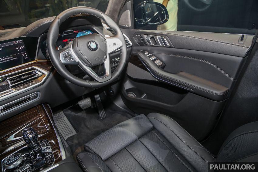 BMW X7 G07 kini dilancarkan di Malaysia – xDrive40i, 7-tempat duduk, harga anggaran dari RM888,800 Image #984277