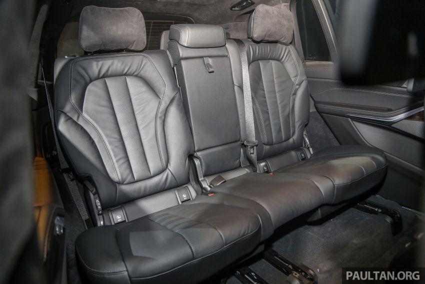 BMW X7 G07 kini dilancarkan di Malaysia – xDrive40i, 7-tempat duduk, harga anggaran dari RM888,800 Image #984332