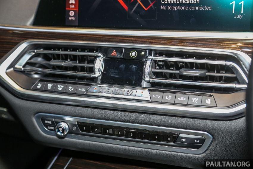 BMW X7 G07 kini dilancarkan di Malaysia – xDrive40i, 7-tempat duduk, harga anggaran dari RM888,800 Image #984230