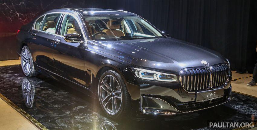 BMW 7 Series G12 LCI dilancarkan di Malaysia – varian 740Le xDrive Pure Excellence, harga dari RM594,800 Image #984427