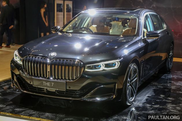 G12 Bmw 7 Series Lci Launched In Malaysia 740le Xdrive Design Pure