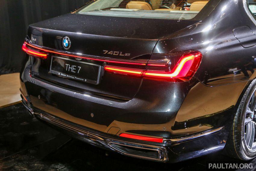BMW 7 Series G12 LCI dilancarkan di Malaysia – varian 740Le xDrive Pure Excellence, harga dari RM594,800 Image #984450