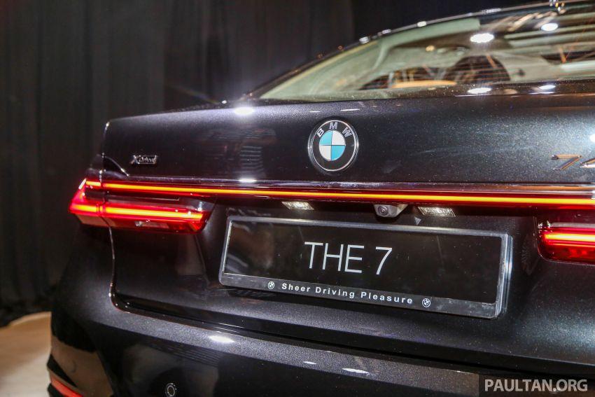 BMW 7 Series G12 LCI dilancarkan di Malaysia – varian 740Le xDrive Pure Excellence, harga dari RM594,800 Image #984454