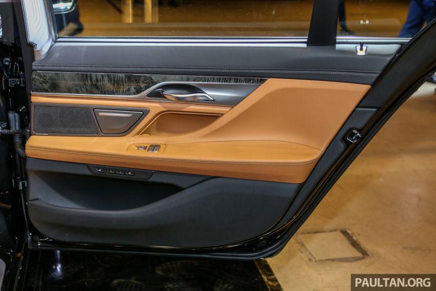BMW 7 Series G12 LCI dilancarkan di Malaysia – varian 740Le xDrive Pure Excellence, harga dari RM594,800 Image #984523