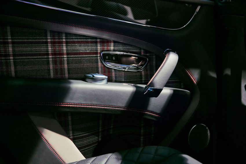 Bentley Bentayga Huntsman edition debuts – each purchase comes with a bespoke Huntsman jacket! Image #980962