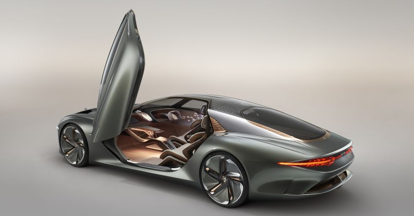 Bentley EXP 100 GT concept debuts – AI-enhanced EV with 700 km range; 1,500 Nm, 0-100 km/h in 2.5s Image #983967
