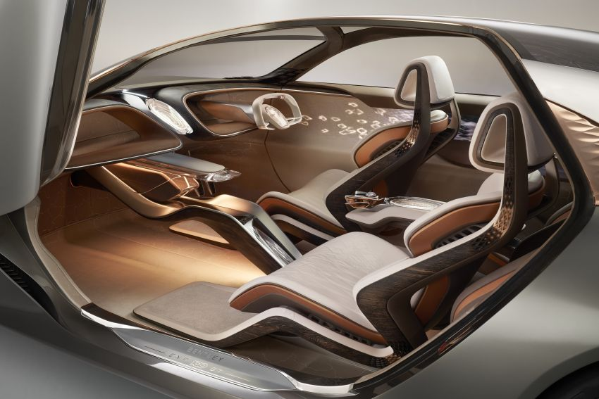 Bentley EXP 100 GT concept debuts – AI-enhanced EV with 700 km range; 1,500 Nm, 0-100 km/h in 2.5s Image #983992