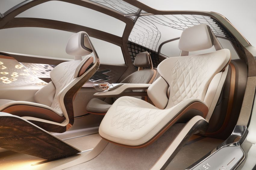 Bentley EXP 100 GT concept debuts – AI-enhanced EV with 700 km range; 1,500 Nm, 0-100 km/h in 2.5s Image #983997