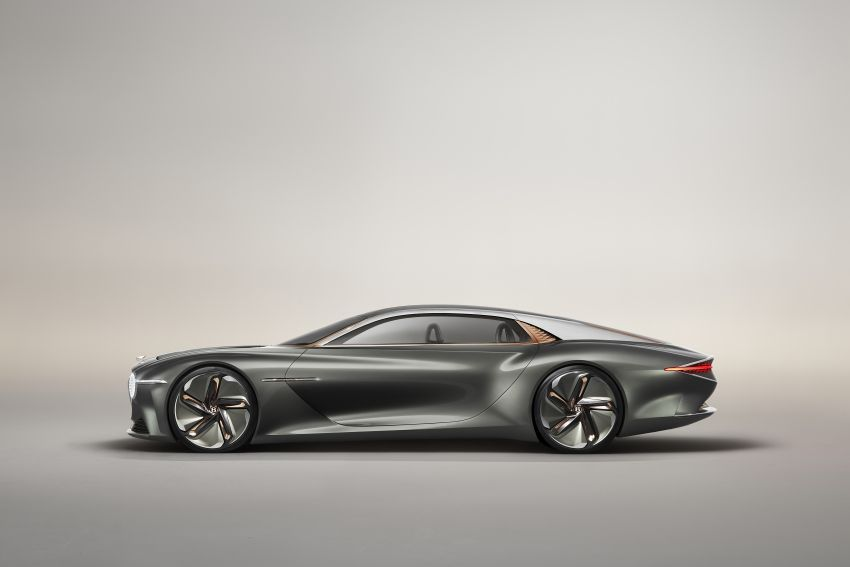 Bentley EXP 100 GT concept debuts – AI-enhanced EV with 700 km range; 1,500 Nm, 0-100 km/h in 2.5s Image #983970