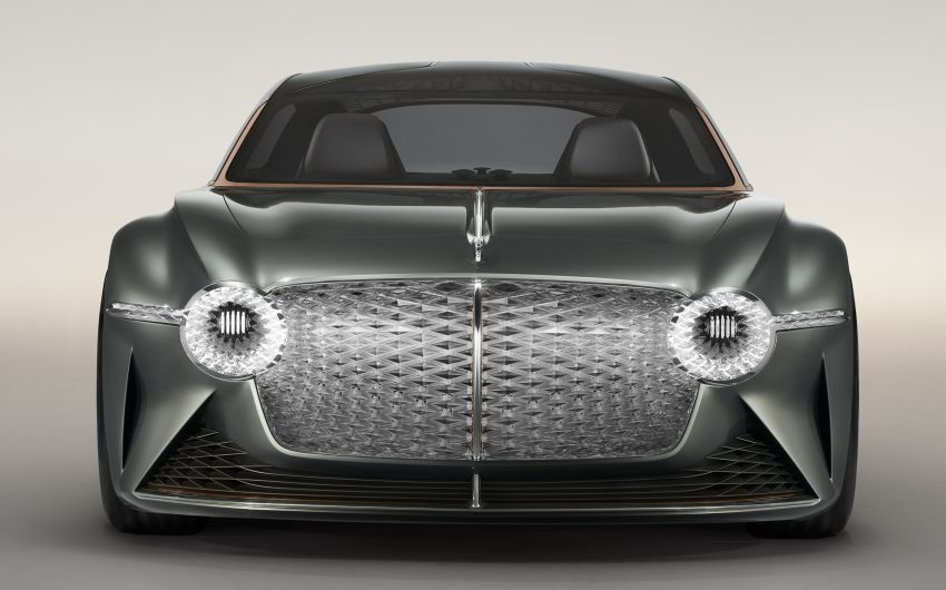 Bentley EXP 100 GT concept debuts – AI-enhanced EV with 700 km range; 1,500 Nm, 0-100 km/h in 2.5s Image #983971