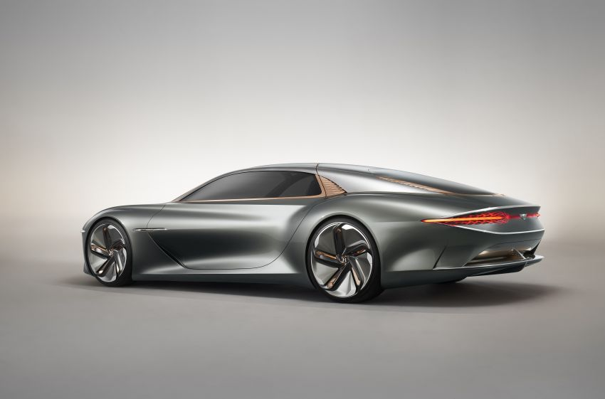 Bentley EXP 100 GT concept debuts – AI-enhanced EV with 700 km range; 1,500 Nm, 0-100 km/h in 2.5s Image #983973