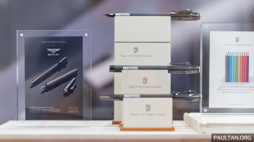 Bentley KL showcases limited-edition Breitling watch and writing instruments from Graf von Faber-Castell Image #984501