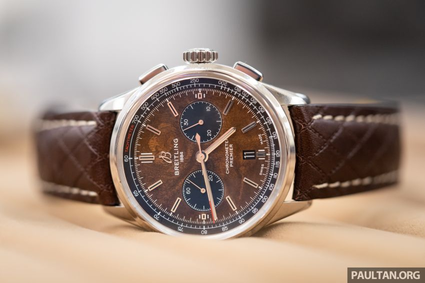 Bentley KL showcases limited-edition Breitling watch and writing instruments from Graf von Faber-Castell Image #984469