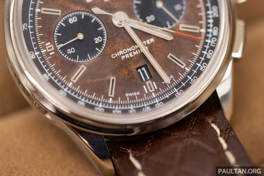 Bentley KL showcases limited-edition Breitling watch and writing instruments from Graf von Faber-Castell Image #984465