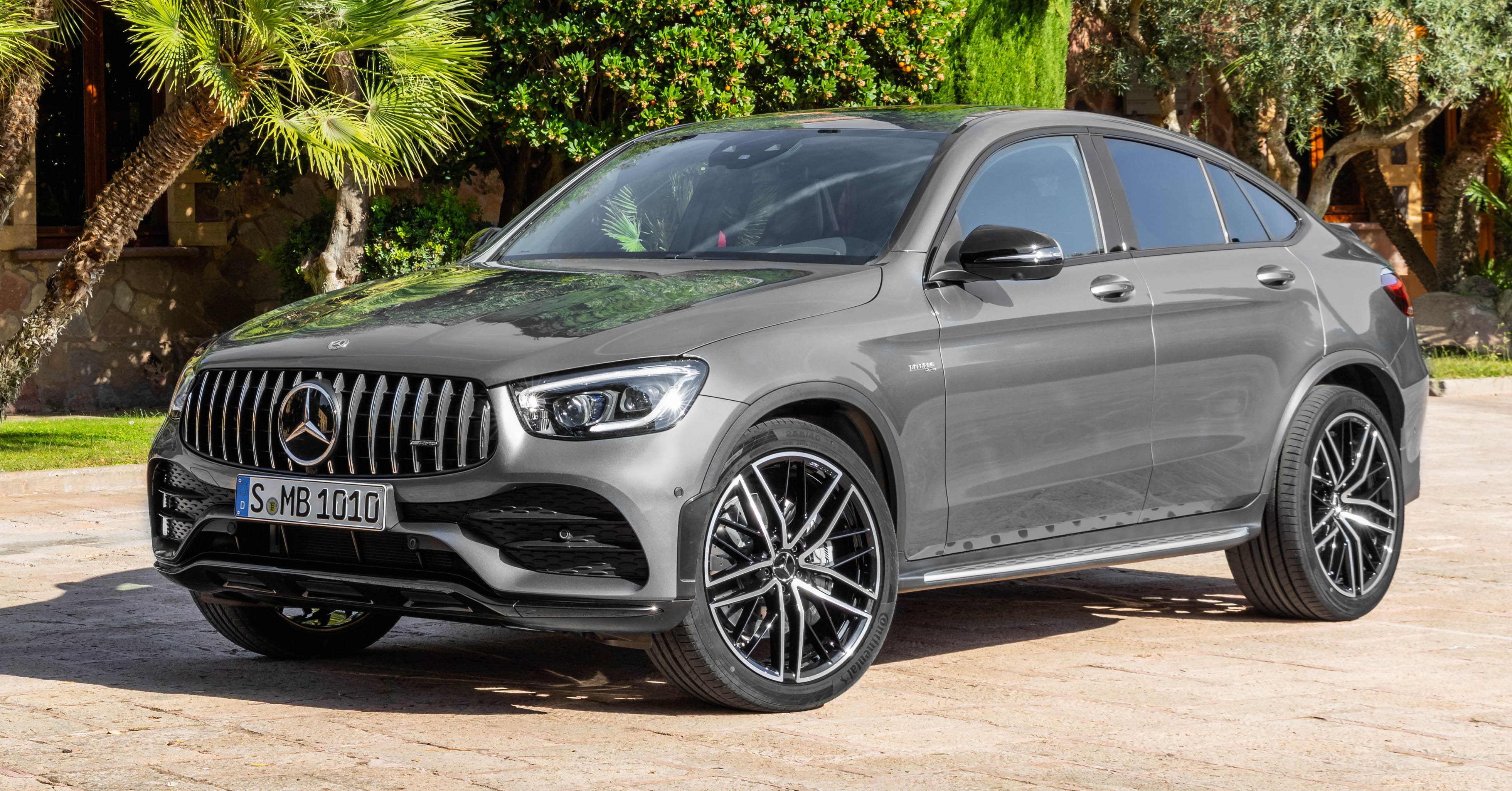2020 Mercedes Amg Glc43 4matic Coupe Facelift Launched In Malaysia Ckd Added Safety Rm499k Paultan Org