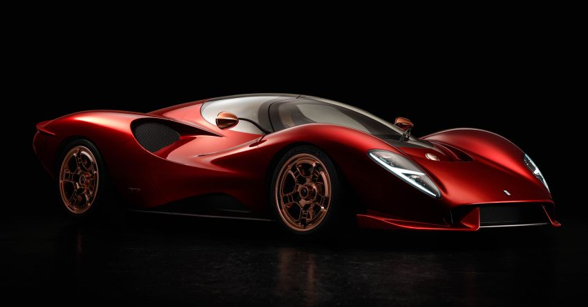 De Tomaso P72 unveiled – only 72 units to be made Image #983038