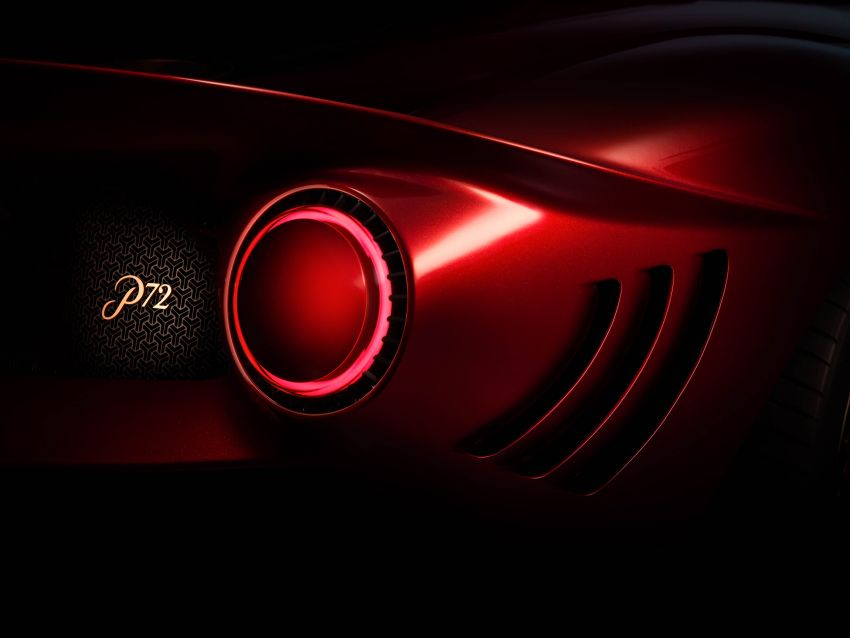 De Tomaso P72 unveiled – only 72 units to be made Image #983047