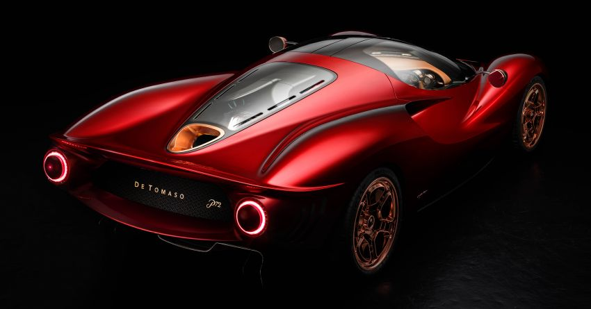 De Tomaso P72 unveiled – only 72 units to be made Image #983039