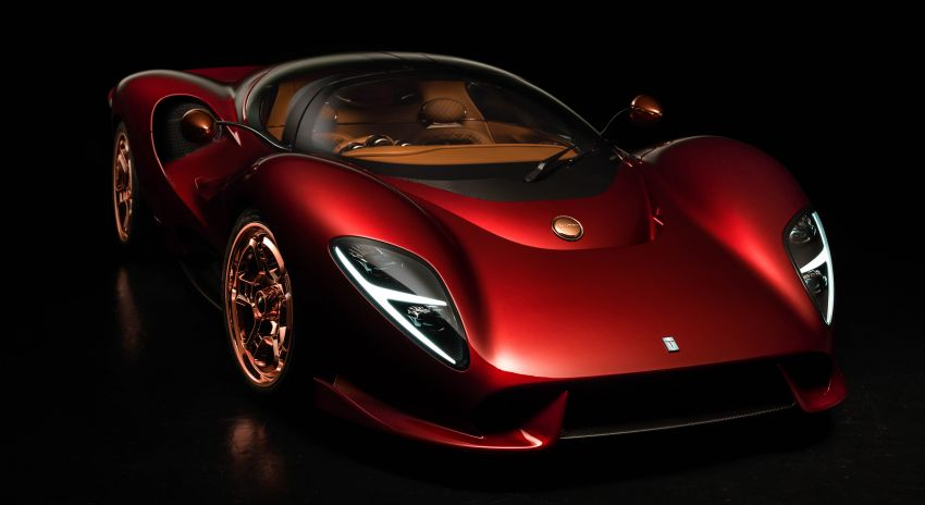 De Tomaso P72 unveiled – only 72 units to be made Image #983040