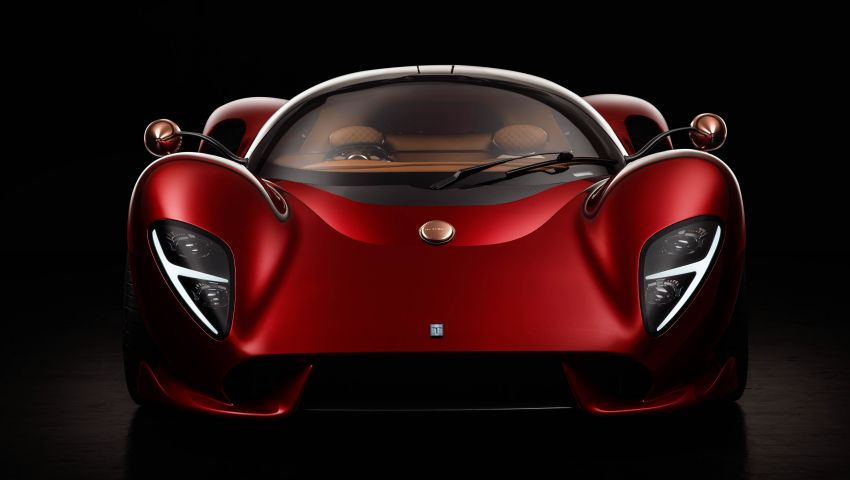 De Tomaso P72 unveiled – only 72 units to be made Image #983042