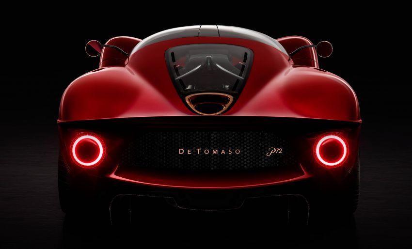 De Tomaso P72 unveiled – only 72 units to be made Image #983043
