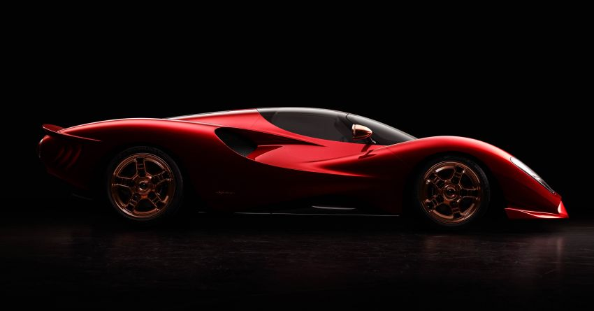 De Tomaso P72 unveiled – only 72 units to be made Image #983044
