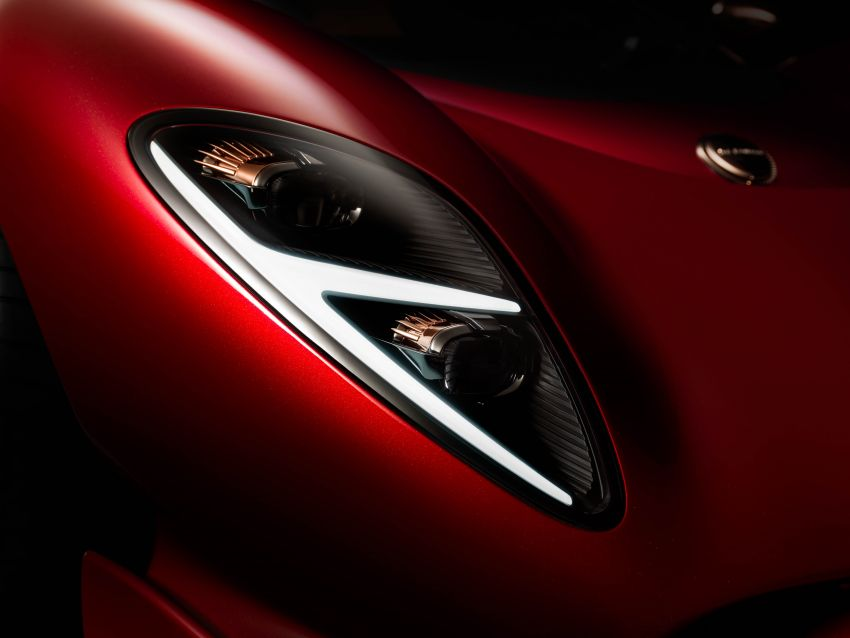 De Tomaso P72 unveiled – only 72 units to be made Image #983045