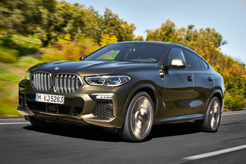 G06 BMW X6 officially debuts – now larger and more luxurious; M50i packs a 523 hp 4.4L twin-turbo V8 Image #980616