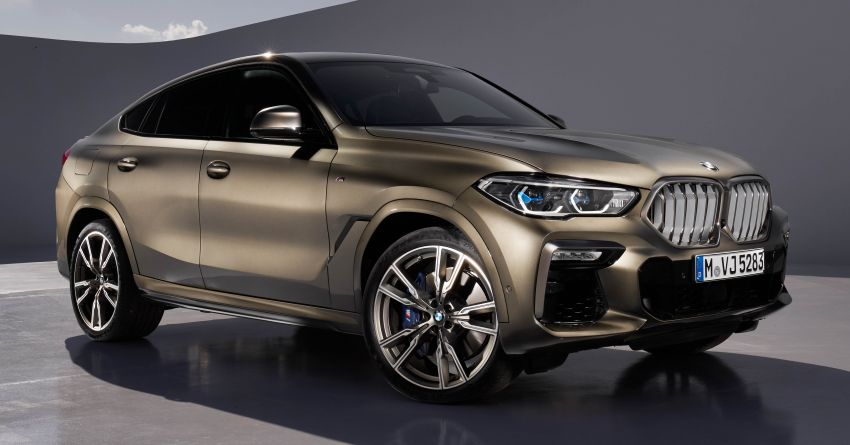 G06 BMW X6 officially debuts – now larger and more luxurious; M50i packs a 523 hp 4.4L twin-turbo V8 Image #980619