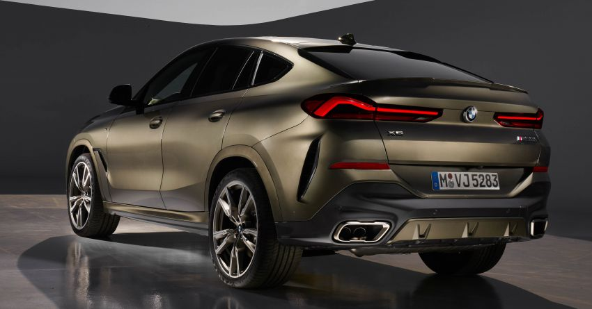 G06 BMW X6 officially debuts – now larger and more luxurious; M50i packs a 523 hp 4.4L twin-turbo V8 Image #980620