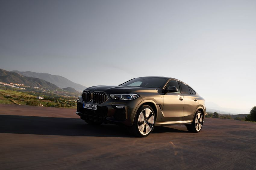 G06 BMW X6 officially debuts – now larger and more luxurious; M50i packs a 523 hp 4.4L twin-turbo V8 Image #980621