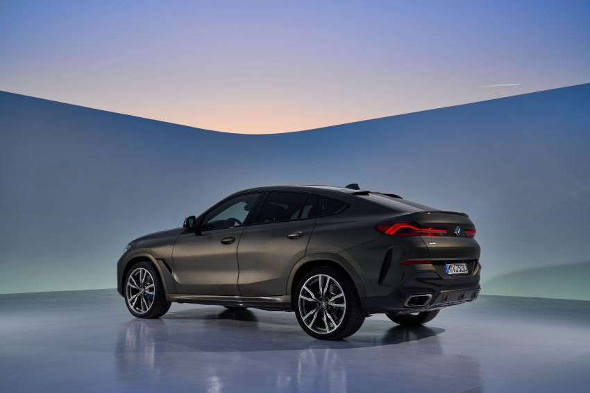 G06 BMW X6 officially debuts – now larger and more luxurious; M50i packs a 523 hp 4.4L twin-turbo V8 Image #980622