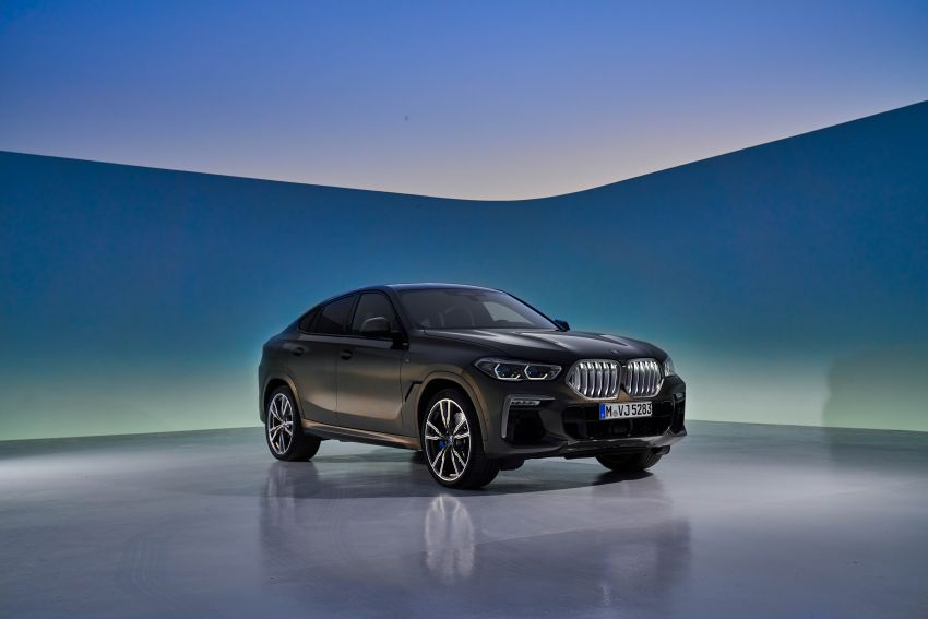 G06 BMW X6 officially debuts – now larger and more luxurious; M50i packs a 523 hp 4.4L twin-turbo V8 Image #980624