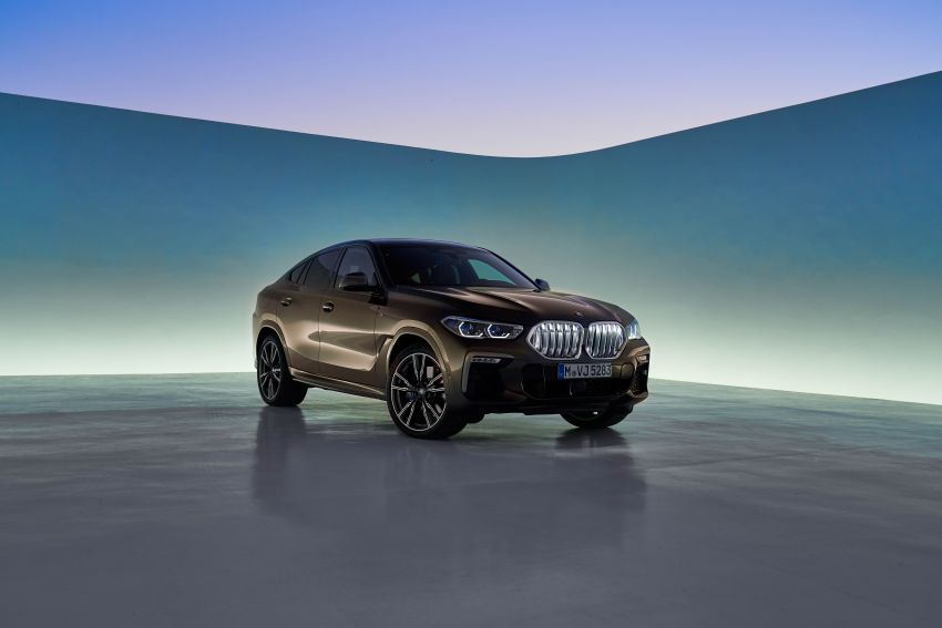 G06 BMW X6 officially debuts – now larger and more luxurious; M50i packs a 523 hp 4.4L twin-turbo V8 Image #980626