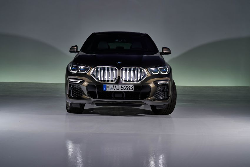 G06 BMW X6 officially debuts – now larger and more luxurious; M50i packs a 523 hp 4.4L twin-turbo V8 Image #980630