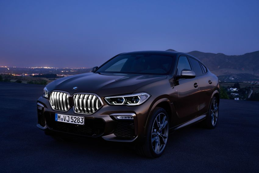 G06 BMW X6 officially debuts – now larger and more luxurious; M50i packs a 523 hp 4.4L twin-turbo V8 Image #980641