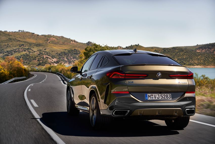 G06 BMW X6 officially debuts – now larger and more luxurious; M50i packs a 523 hp 4.4L twin-turbo V8 Image #980650