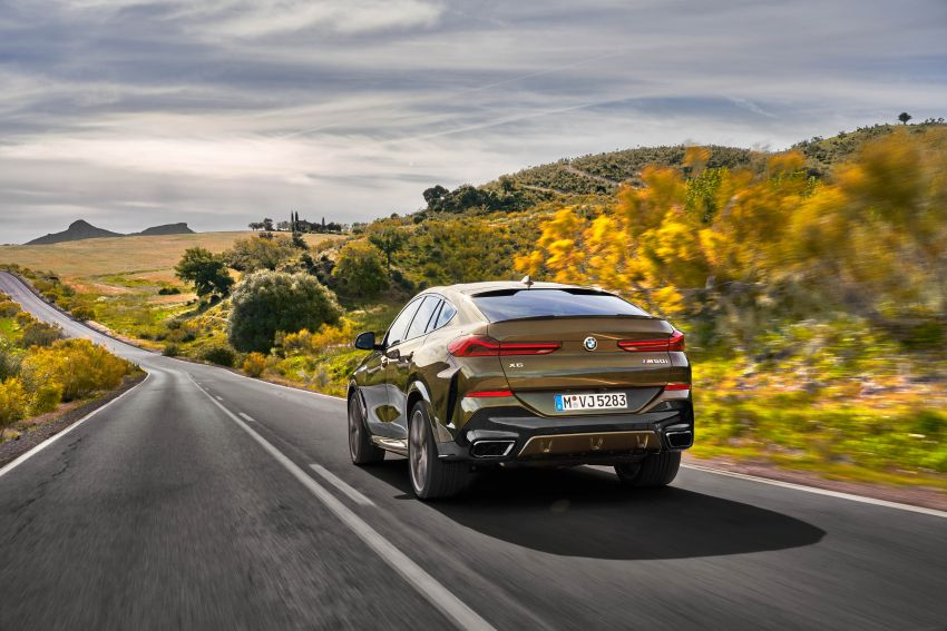 G06 BMW X6 officially debuts – now larger and more luxurious; M50i packs a 523 hp 4.4L twin-turbo V8 Image #980659