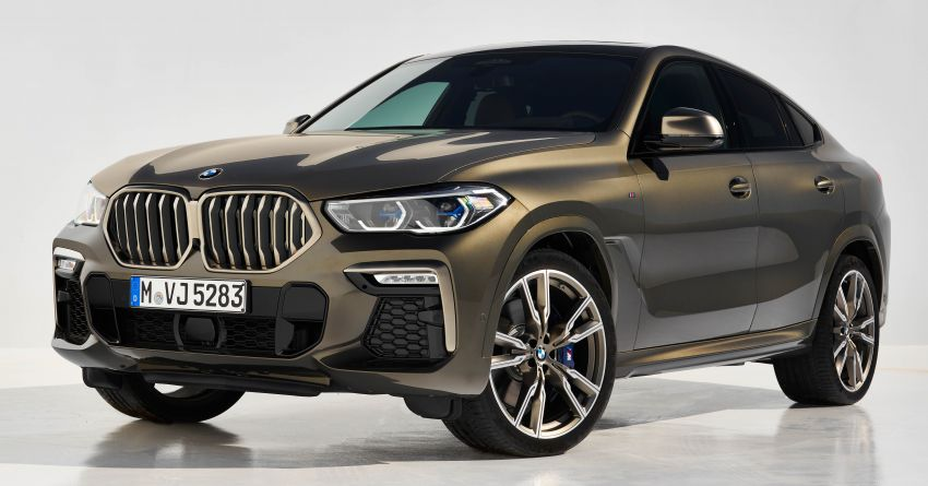 G06 BMW X6 officially debuts – now larger and more luxurious; M50i packs a 523 hp 4.4L twin-turbo V8 Image #980668