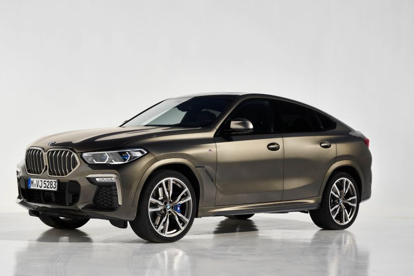 G06 BMW X6 officially debuts – now larger and more luxurious; M50i packs a 523 hp 4.4L twin-turbo V8 Image #980674