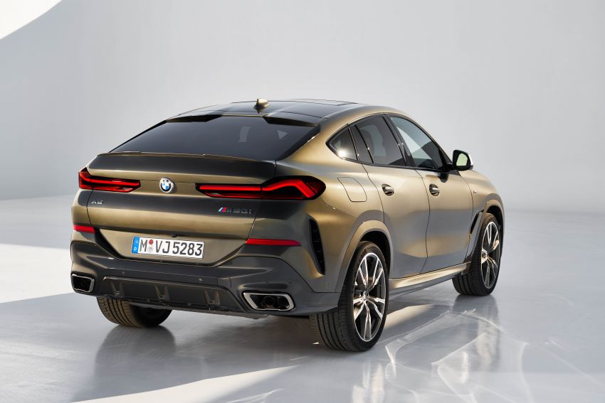 G06 BMW X6 officially debuts – now larger and more luxurious; M50i packs a 523 hp 4.4L twin-turbo V8 Image #980680