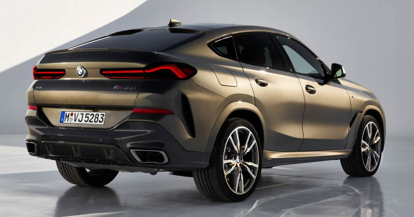G06 BMW X6 officially debuts – now larger and more luxurious; M50i packs a 523 hp 4.4L twin-turbo V8 Image #980682