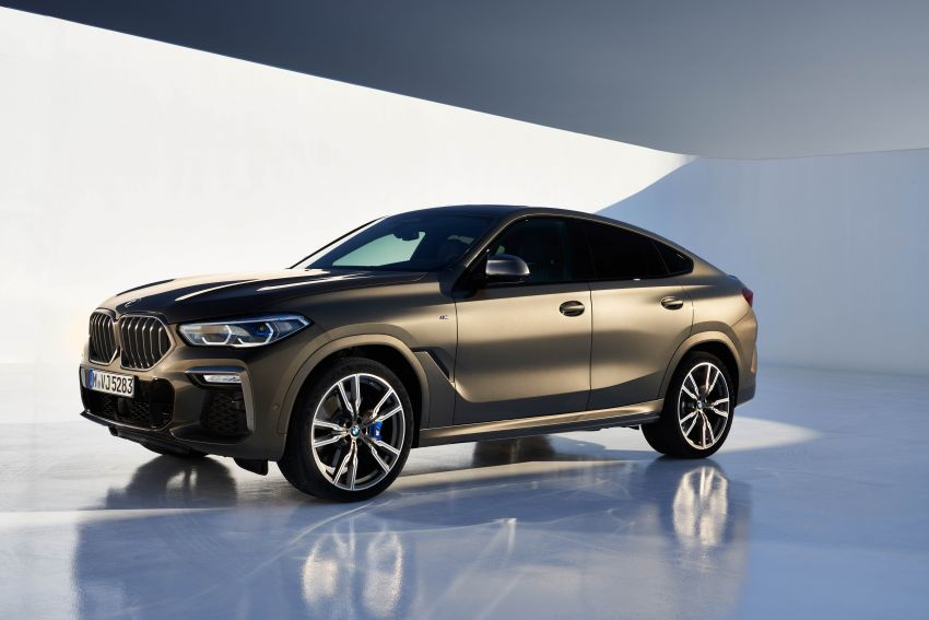 G06 BMW X6 officially debuts – now larger and more luxurious; M50i packs a 523 hp 4.4L twin-turbo V8 Image #980683
