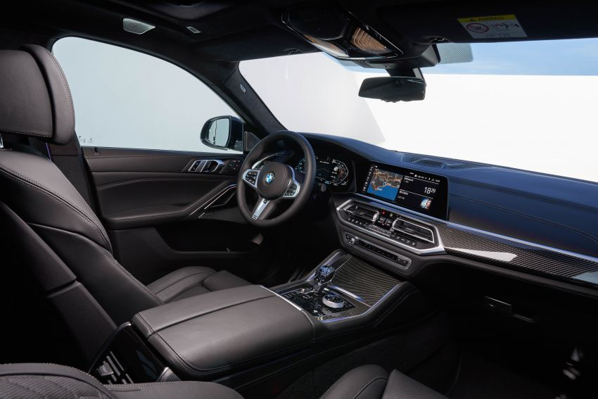 G06 BMW X6 officially debuts – now larger and more luxurious; M50i packs a 523 hp 4.4L twin-turbo V8 Image #980688