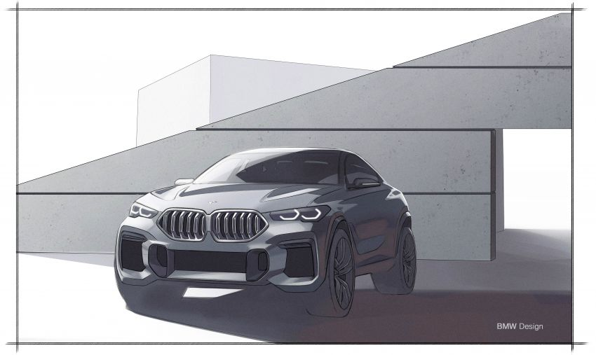 G06 BMW X6 officially debuts – now larger and more luxurious; M50i packs a 523 hp 4.4L twin-turbo V8 Image #980706