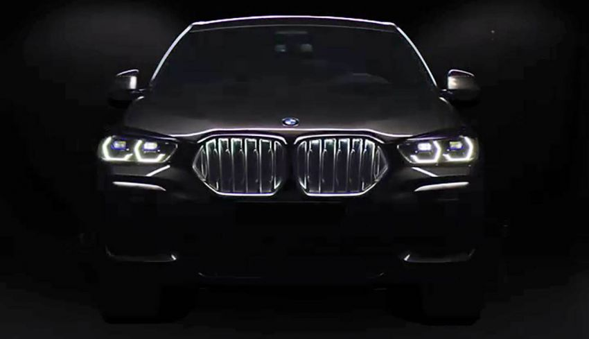 G06 BMW X6 officially teased ahead of global debut Image #980459