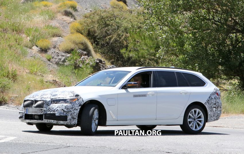 SPYSHOTS: G31 BMW 5 Series Touring LCI spotted Image #984987