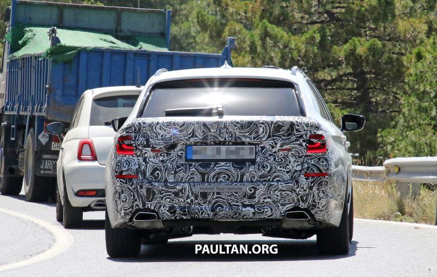 SPYSHOTS: G31 BMW 5 Series Touring LCI spotted Image #985001