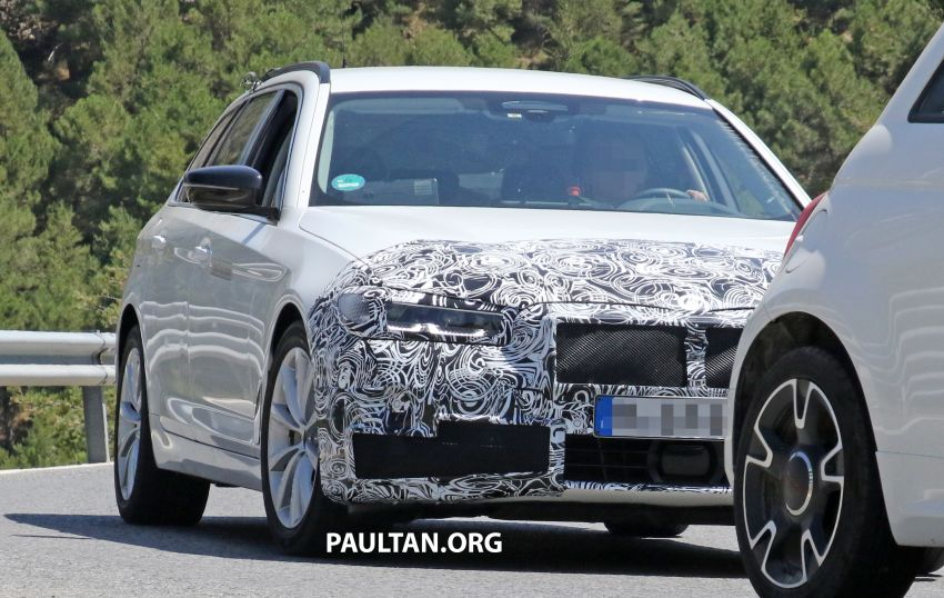 SPYSHOTS: G31 BMW 5 Series Touring LCI spotted Image #984991